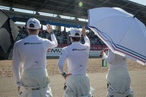 Sheldon van der Linde, BMW Team RBM, Lucas Auer, BMW Team RMG