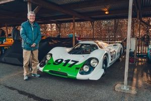 Vic Elford and the very first Porsche 917