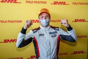 Pole sitter Jean-Karl Vernay, Mulsanne Alfa Romeo Giulietta TCR