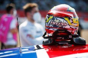 Helemt of Robin Frijns, Audi Sport Team Abt Sportsline