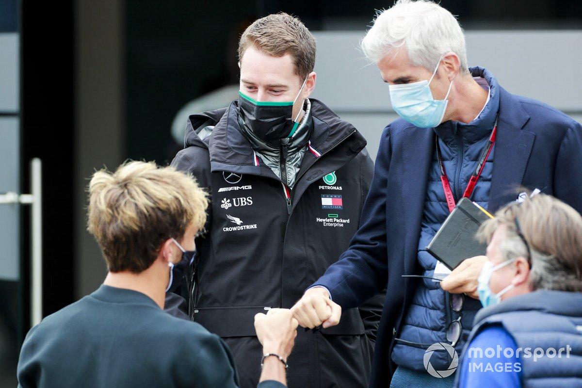 Pierre Gasly, AlphaTauri y Stoffel Vandoorne, reserva de Mercedes-AMG F1
