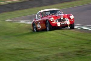 Stirling Moss Memorial Trophy: Michael Darcey, Richard Woolmer, 1961 Austin Healey 3000 Mk1