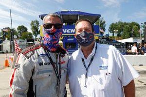 IMSA Official Johnny Knotts and Ken Grogan