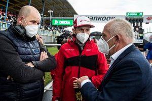 Dennis Rostek and René Rast, Audi Sport Team Rosberg