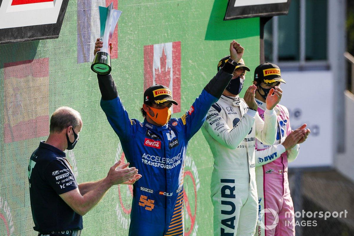 101- Carlos Sainz, 2º en el GP de Italia 2020 con McLaren