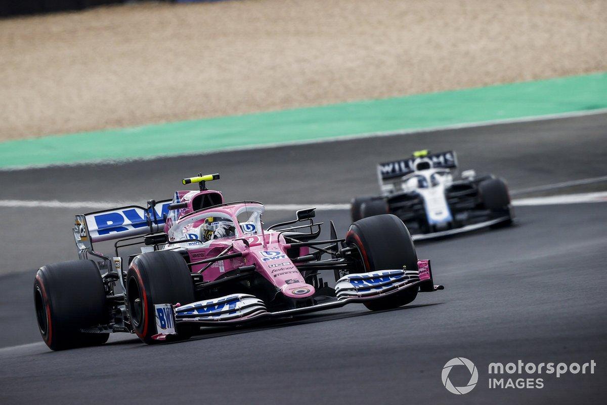 Nico Hulkenberg, Racing Point RP20, Nicholas Latifi, Williams FW43