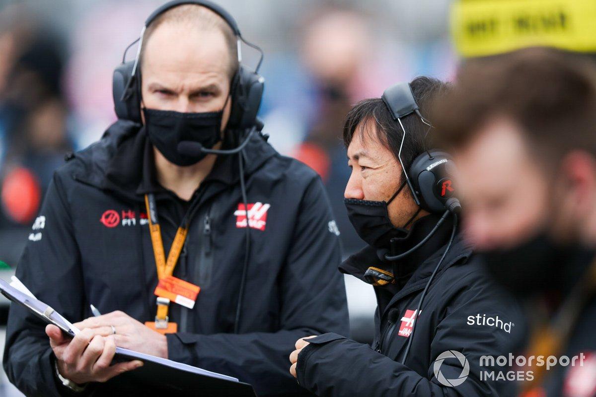 Ayao Komatsu, Capo degli ingegneri di gara, Haas F1