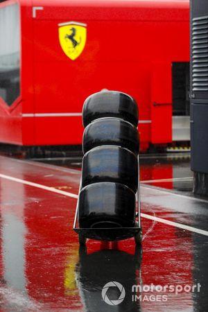 Pirelli Tyres in the rain