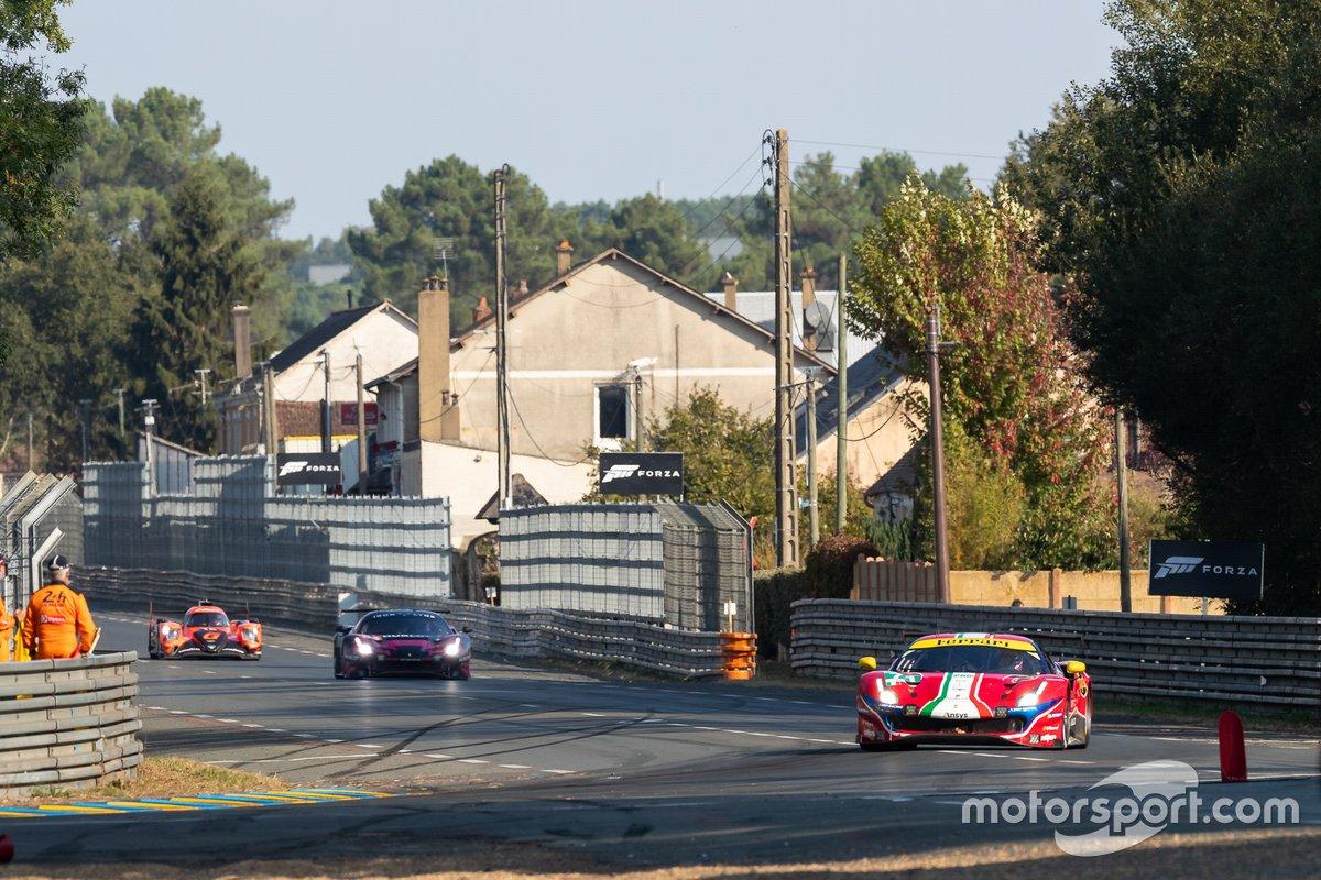 #71 AF Corse - Ferrari 488 GTE EVO: Davide Rigon, Sam Bird, Miguel Molina