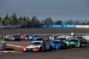 René Rast, Audi Sport Team Rosberg, Audi RS 5 DTM, Philipp Eng, BMW Team RBM, BMW M4 DTM, Marco Wittmann, BMW Team RMG, BMW M4 DTM