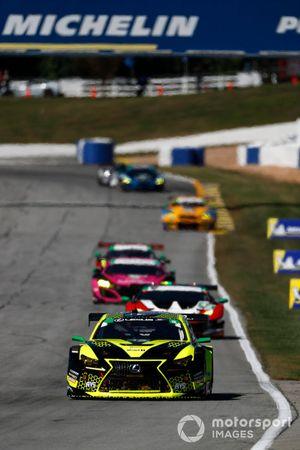 #12 AIM Vasser Sullivan Lexus RC-F GT3, GTD: Frankie Montecalvo, Townsend Bell, Kyle Kirkwood