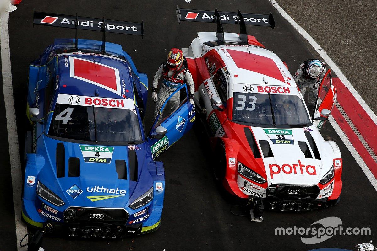 In der Saison 2020 lag ein Audi RS 5 DTM 601 von 649 Runden in Führung - das entspricht 2.663 von 2.865 Kilometern beziehungsweise 93 Prozent. Ebenfalls eindrucksvoll: 2020 war die erste Startreihe bei 16 von 18 Rennen für Fahrer eines Audi RS 5 DTM reserviert. Gleich bei 15 der 18 Rennen feierte Audi 2020 Mehrfacherfolge.