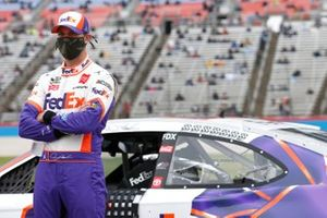 Denny Hamlin, Joe Gibbs Racing, Toyota Camry FedEx Shipathon