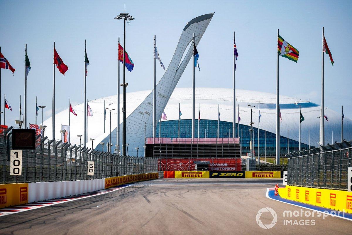Detalles del circuito de Sochi