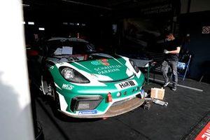 #58 W&S Motorsport Team Space Drive Racing Porsche Cayman 718 GT4 Mr: Marvin Dienst, Niklas Steinhaus, Kai Riemer, Tim Scheerbarth