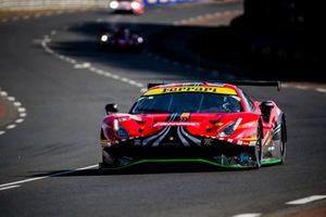 #52 AF Corse Ferrari 488 GTE Evo: Cristoph Ulrich, Steffen Görig, Alexander West