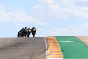 Jeffery Buis, MTM Kawasaki Motoport, Thomas Brianti, Prodina Ircos Team WorldSSP300, Scott Deroue, MTM Kawasaki Motoport