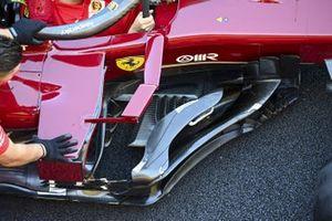 Детали области дефлекторов Ferrari SF1000