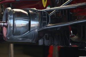Ferrari SF1000 brake duct detail