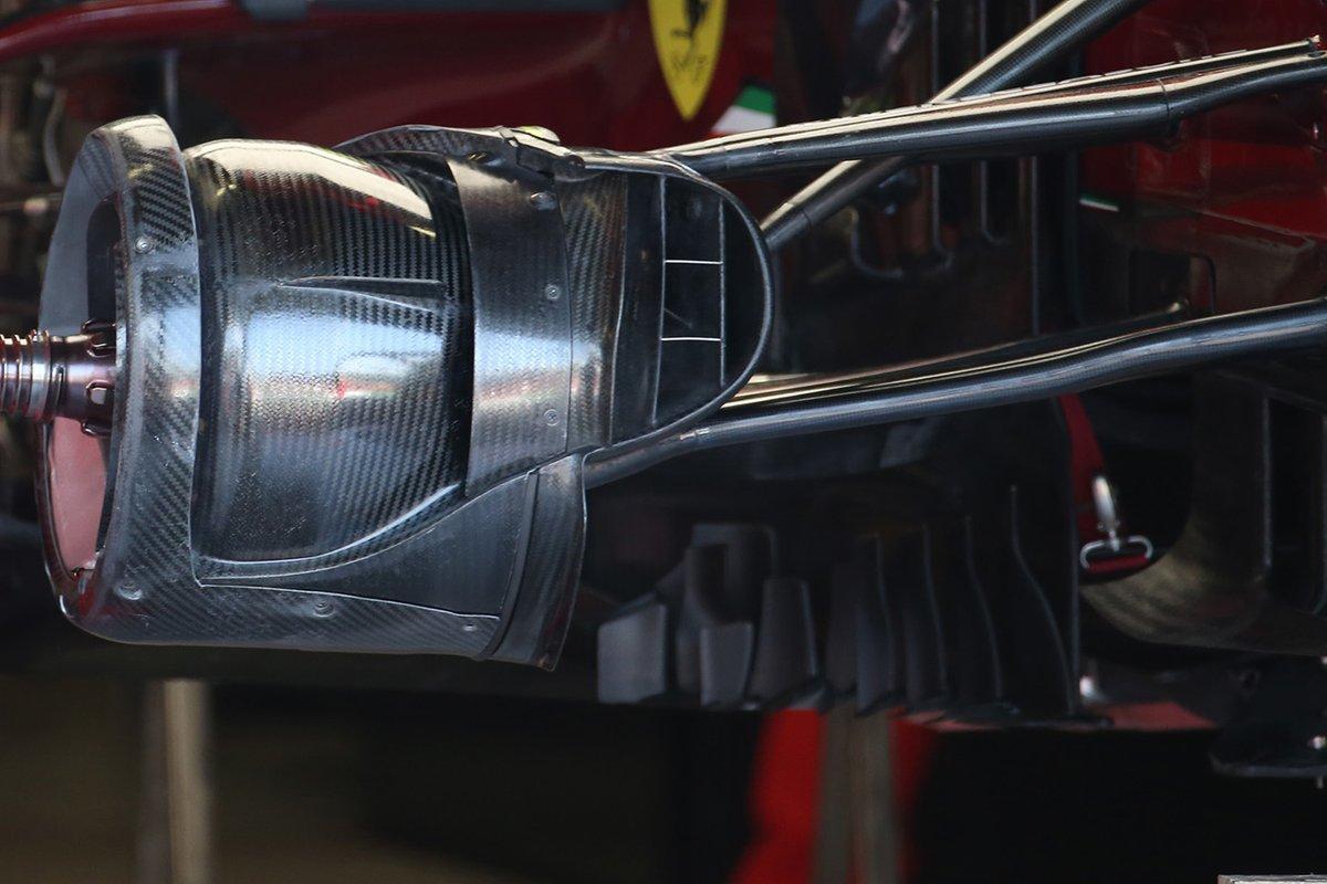 Ferrari SF1000, dettaglio del freno