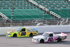 Matt Crafton, ThorSport Racing, Ford F-150 Menards Jennifer Jo Cobb, Jennifer Jo Cobb Racing, Chevrolet Silverado Fastener Supply Company
