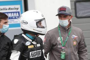 Sharni Pinfold, Smrz Racing by Blue Garage, mit Jakub Smrz