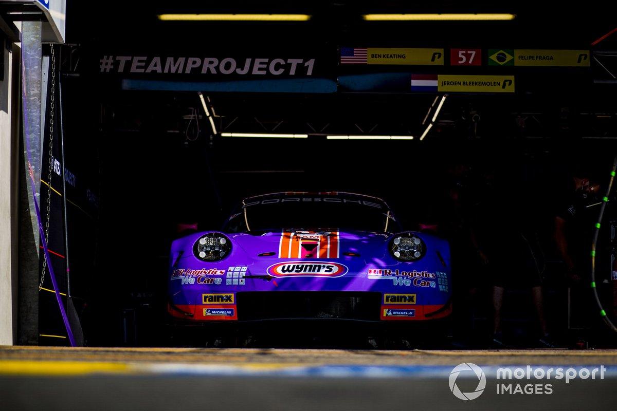 #57 Team Project 1 Porsche 911 RSR