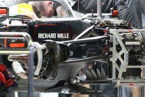 Haas F1 Team VF-20 turning vanes