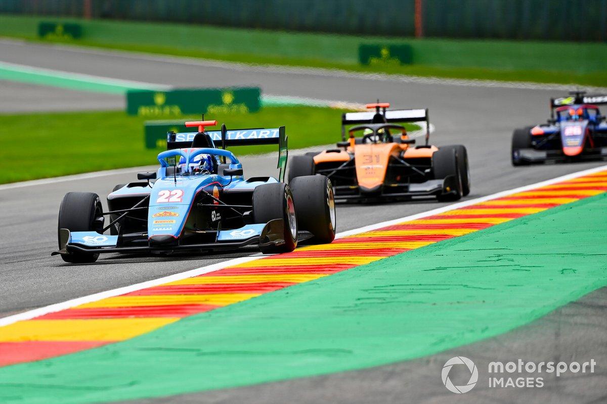 Matteo Nannini, Jenzer Motorsport and Andreas Estner, Campos Racing