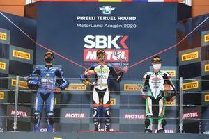 Bahattin Sofuoglu, Biblion Motoxracing Yamaha WorldSSP300, Victor Rodriguez Nunez, 2R Racing, Jeffrey Buis, MTM Kawasaki Motoport