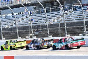 Matt Crafton, ThorSport Racing, Ford F-150 Ideal Door/Menards, Raphael Lessard, Kyle Busch Motorsports, Toyota Tundra Mobil 1, David Ragan, DGR-Crosley Ford F-150 Shriners Hospitals