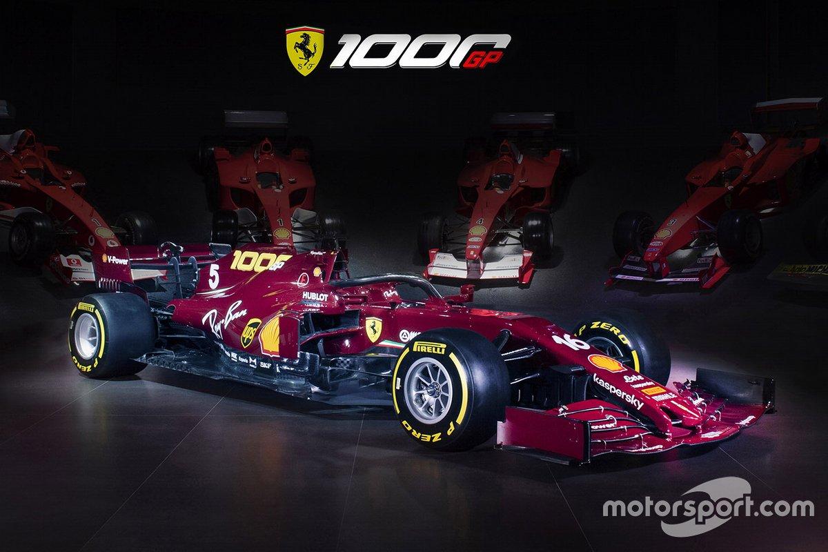 Decoración de Ferrari para el GP de la Toscana