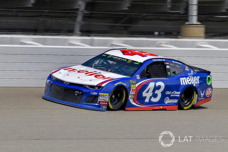 28. Darrell Wallace Jr., Richard Petty Motorsports, Chevrolet Camaro Meijer
