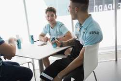 Enea Bastianini and Lorenzo Dalla Porta speak to Motorsport.com journalist Matteo Nugnes