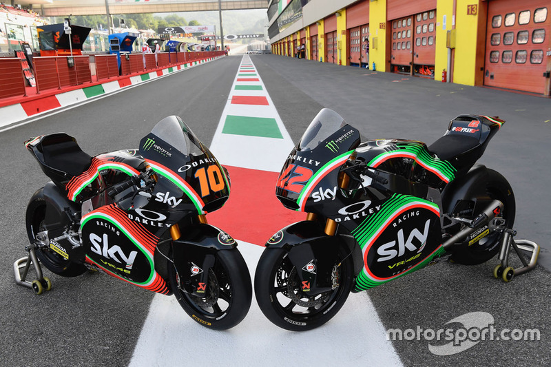 Luca Marini, Sky Racing Team VR46, Francesco Bagnaia, Sky Racing Team VR46, livree speciali per il Mugello
