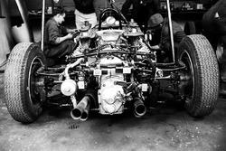 Оппозитный двигатель Porsche 804 с воздушным охлаждением