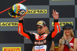 Podio: Chaz Davies, Aruba.it Racing-Ducati SBK Team