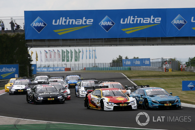 Start action, Augusto Farfus, BMW Team RMG, BMW M4 DTM, Gary Paffett, Mercedes-AMG Team HWA, Mercede