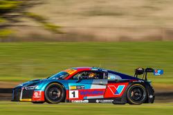 #1 Audi R8 LMS: Geoff Emery, Garth Tander