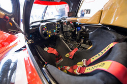Le cockpit de l'ORECA #39 du Graff Racing