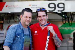 Matthias Killing, Sat1-TV with Constantin Braun, Hockey player Eisbären Berlin