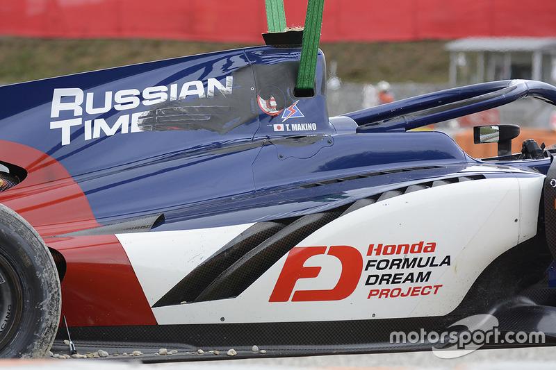 La voiture de Tadasuke Makino, RUSSIAN TIME
