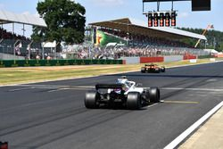 Sergey Sirotkin, Williams FW41 practice start