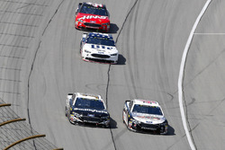 Aric Almirola, Stewart-Haas Racing, Ford Fusion Smithfield and Kevin Harvick, Stewart-Haas Racing, Ford Fusion Jimmy John's Kickin' Ranch