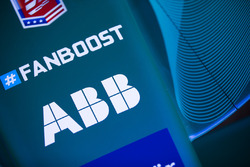 Fanboost, ABB logos on an Andretti Formula E