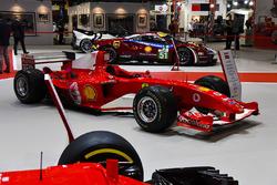 Ferrari's tentoongesteld