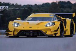 Ford GT DTM schets