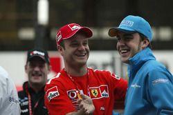 Rubens Barrichello, Ferrari, Fernando Alonso, Renault