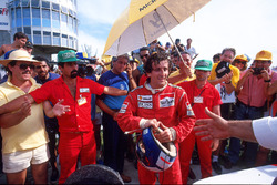 Ganador de la carrera  Alain Prost, McLaren MP4/3
