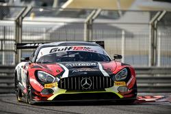 #87 AKKA ASP Mercedes AMG GT3: Mauro Ricci, Jean-Luc Beaubelique, Benjamin Ricci, Jérome Policand